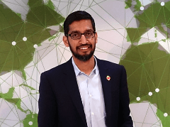 Sundar Pichai is the new boss at Google Universe