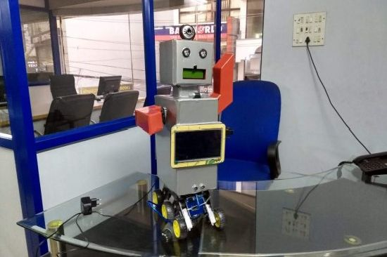 Artificial Intelligence Robot To Detect Mine Bombs Using Arduino and Raspberry Pi