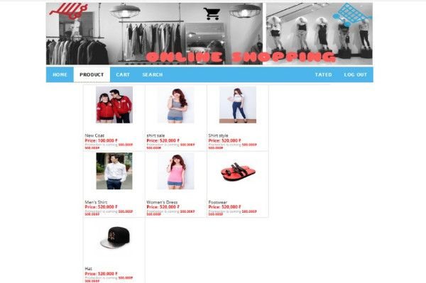 Online Shopping Management and Services using Java
