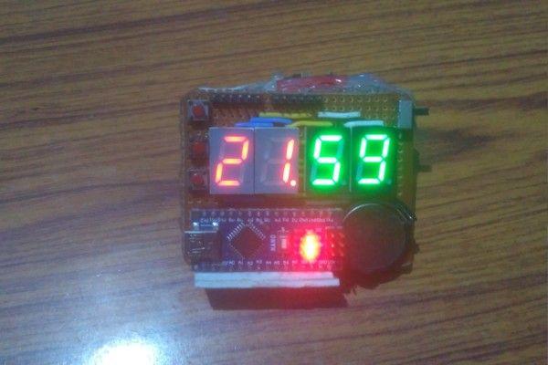 Arduino RTC Clock