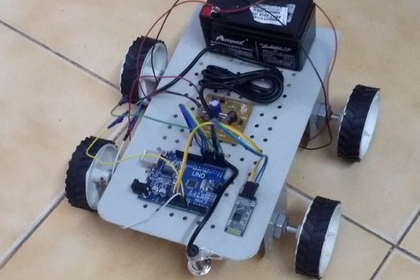 Metal Detecting Robot based on Arduino