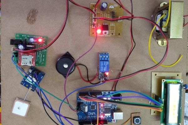 Women safety device based on Arduino Uno