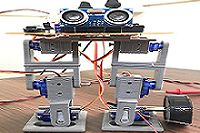 Biped motion of humanoid robot