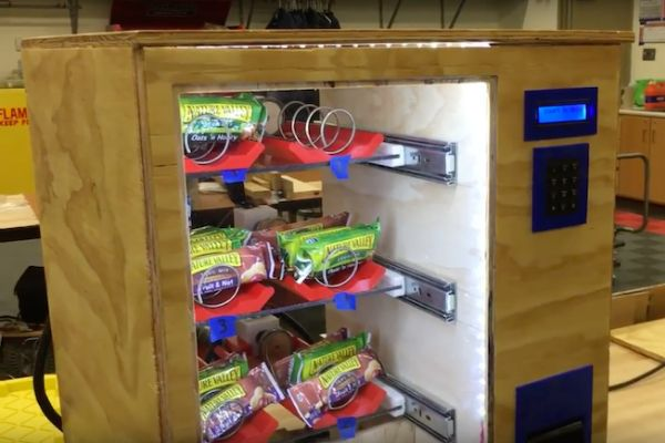RFID Based IoT Vending Machine Using ESP32
