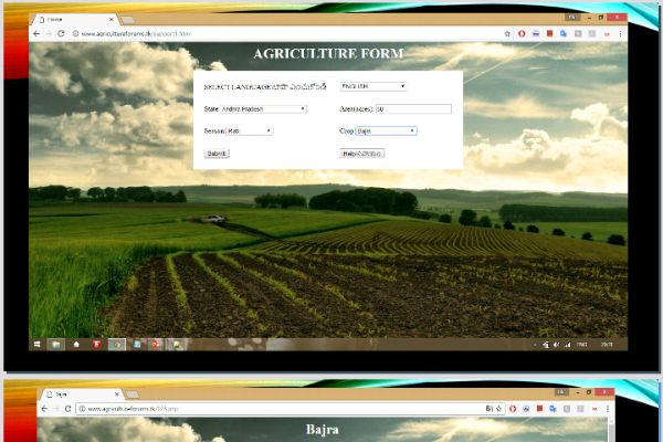 Agricultural Prediction Using Big Data Analytics