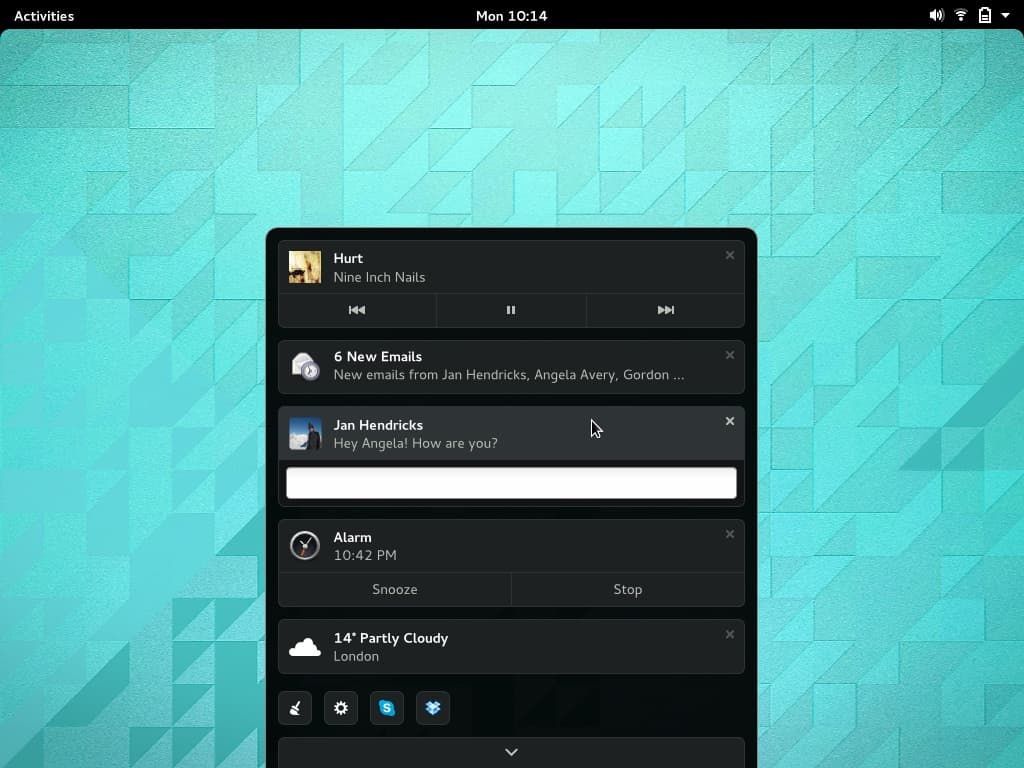 GNOME Shell 3 14 To Feature New Notification System | CrazyEngineers