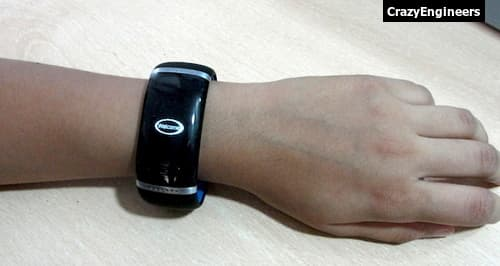 Trendy Style L12S OLED Bluetooth Bracelet Watch-5