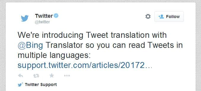 Twitter Bing Translator Is For Real - Here's How You Enable It