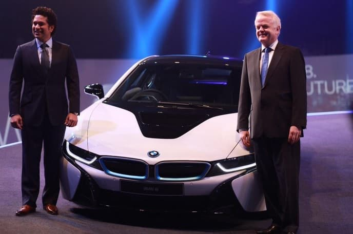 Bmw I8 Hybrid Sports Car Launched In India At Rs 2 29 Crore