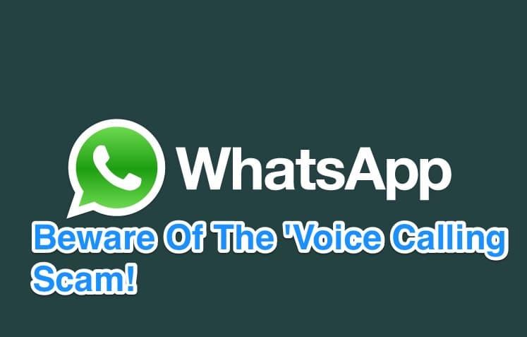 WhatsApp-Voice-Calling-Scam