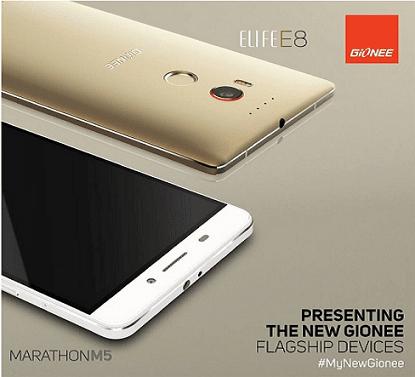 Gionee-Elife-E8-And-Marathon-M5-Smartphones