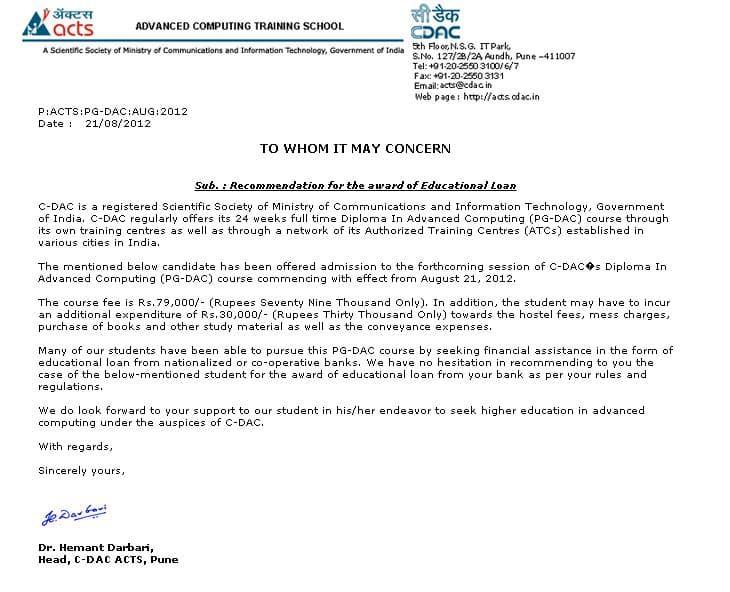 CDAC-Bank-Loan