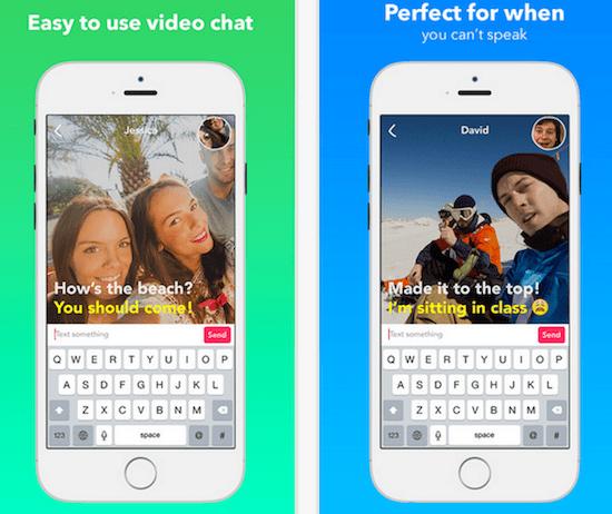 Yahoo-Livetext-Video-Chat-app