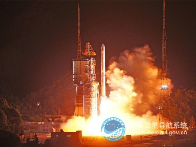BeiDou-China-Satellite-Launch