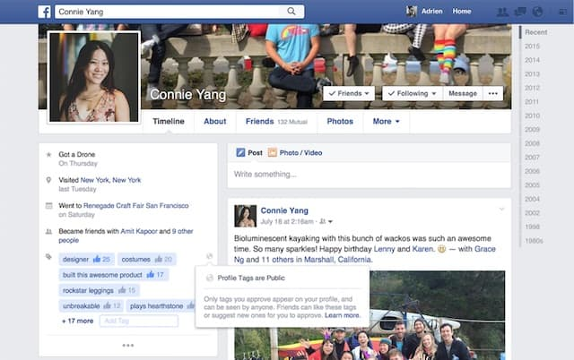 Facebook-Profile-Tags-LinkedIn