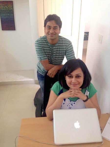 Namrata-Soni-Vinay-Saini-Twikster-CrazyEngineers