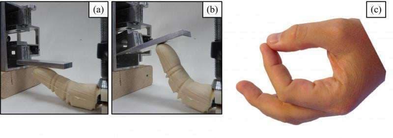 Bioinspired-robotic-finger-real
