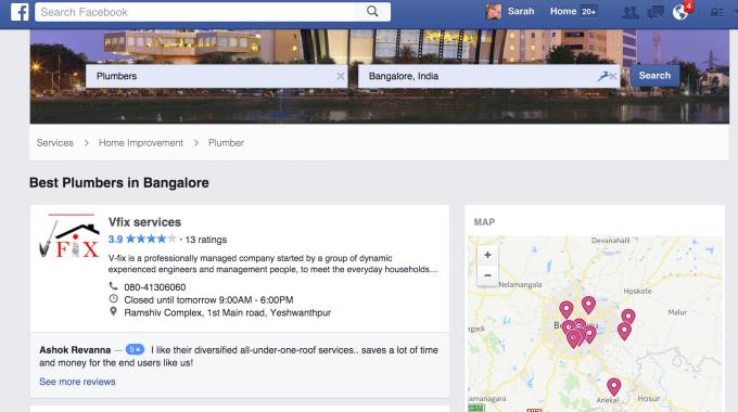 Facebook-services