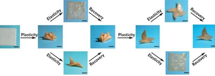 Shape-shifting-polymer