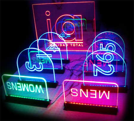 multicolored-edgelit-signs