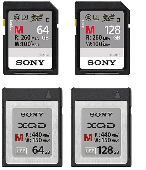 sony-sf-xqd-storage-cards-variants