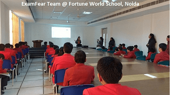 ExamFear@Fortune-World-School-Noida