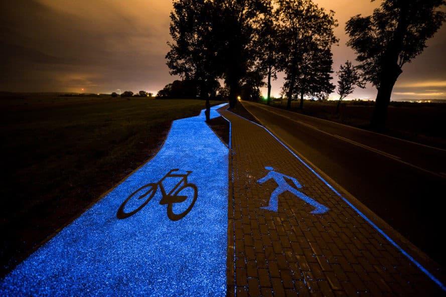glowing-bikelane-poland