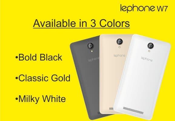 Lephone-W7-Colours