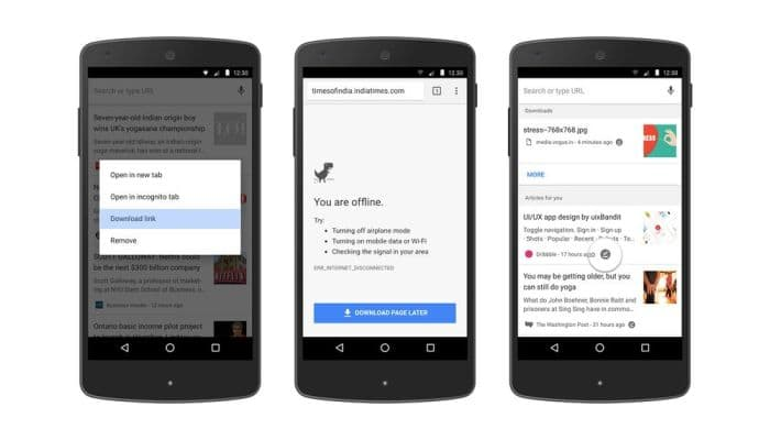 Chrome-Offline-Header