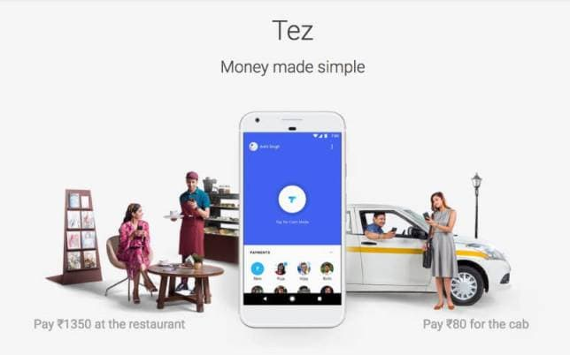 google-Tez-app-india