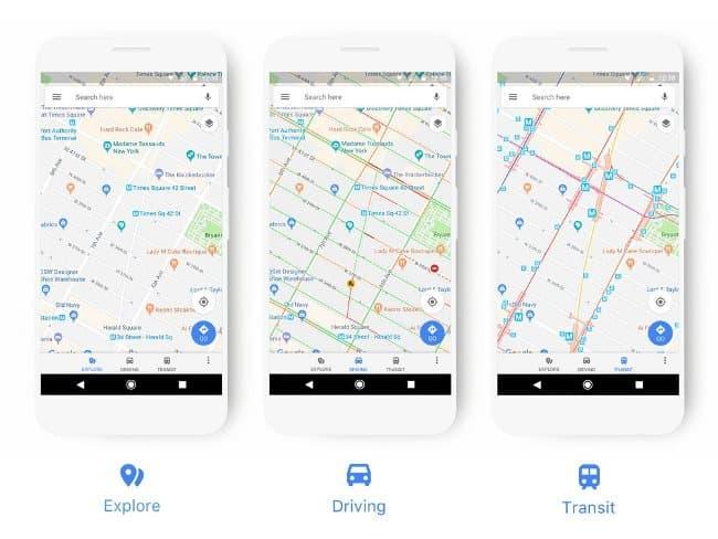 google-maps-new-look