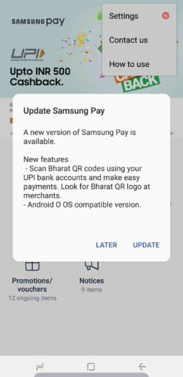 samsung-pay-india-update-bharat-qrcode