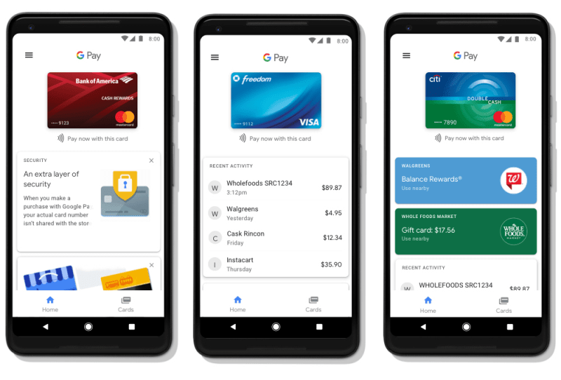 Google-Pay-interface