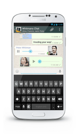 WhatsApp-Voice-Messaging